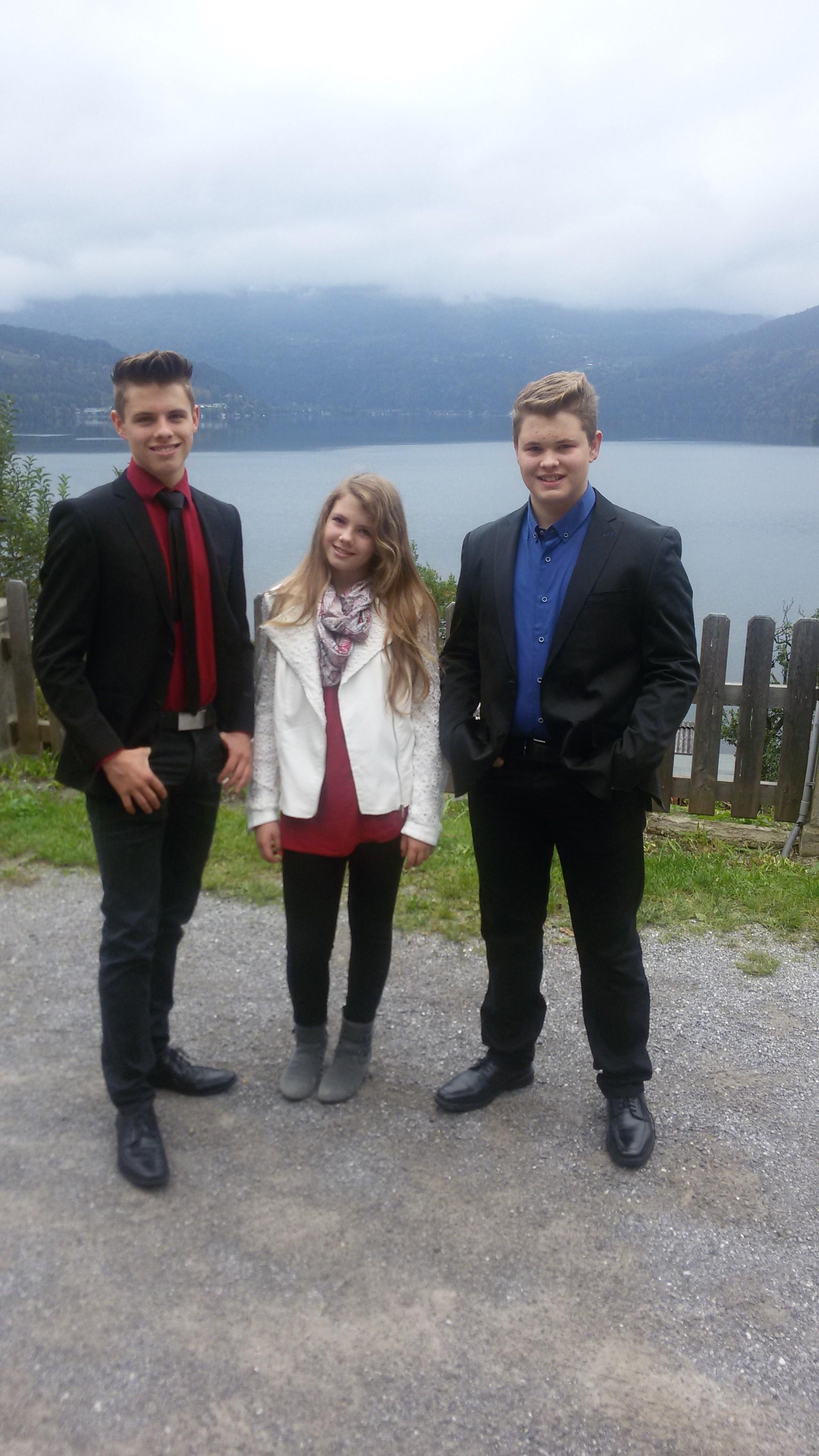Die Kinder: XX, Katharina und Ferdinand jun.